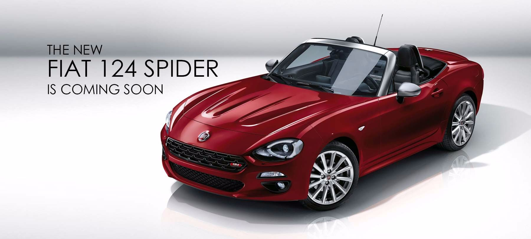 The new Fiat 124 Spider at Threeways Garage