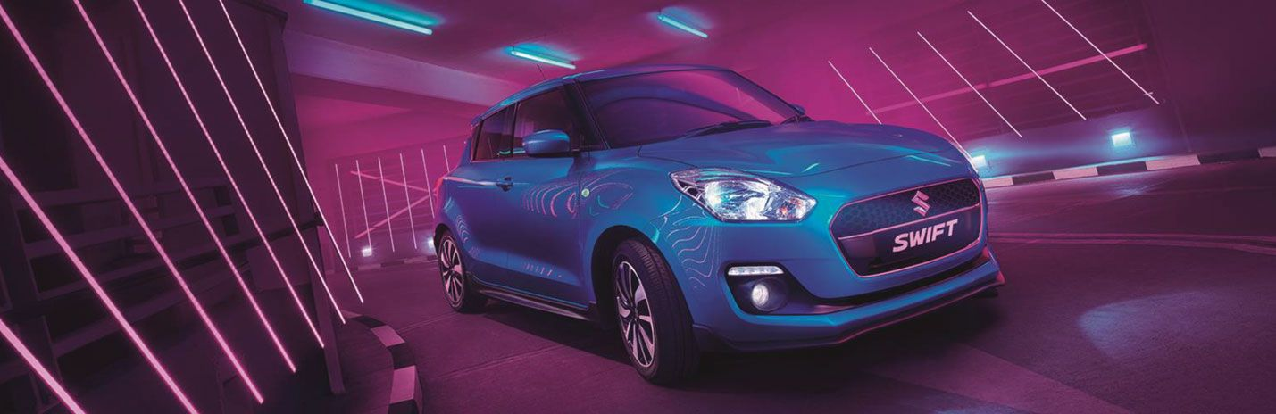 The New Suzuki Swift Attitude